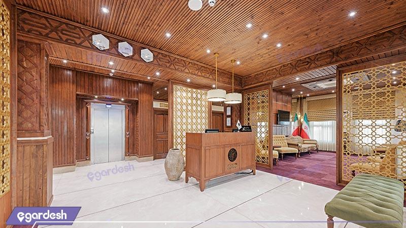 پذیرش هتل بوتیک ایرمان