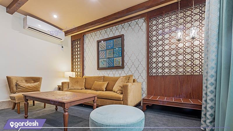 فضای داخلی هتل بوتیک ایرمان