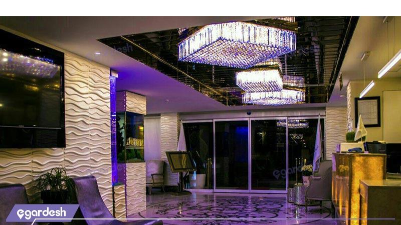 لابی  هتل ترنج متین