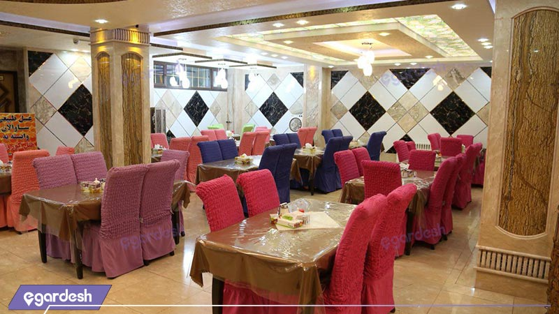 رستوران هتل کوروش