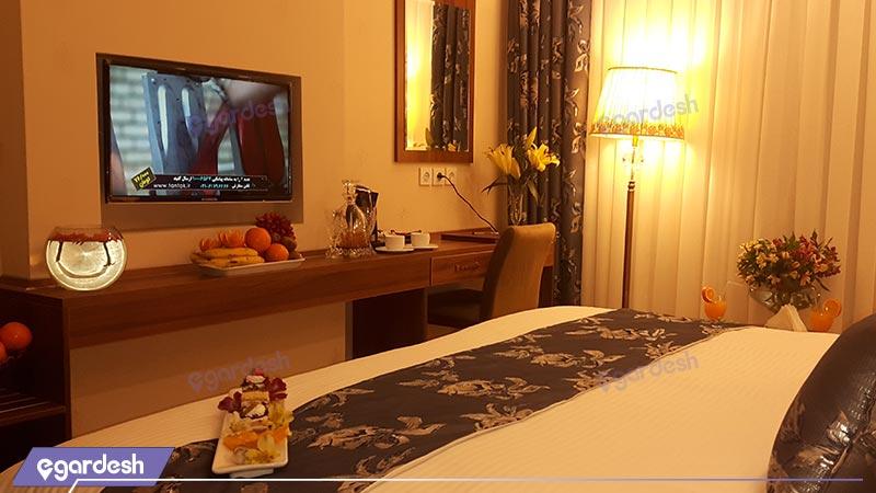 اتاق دابل هتل بغدادی