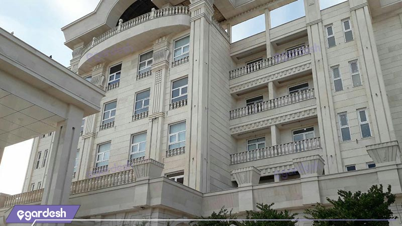 نمای هتل بغدادی