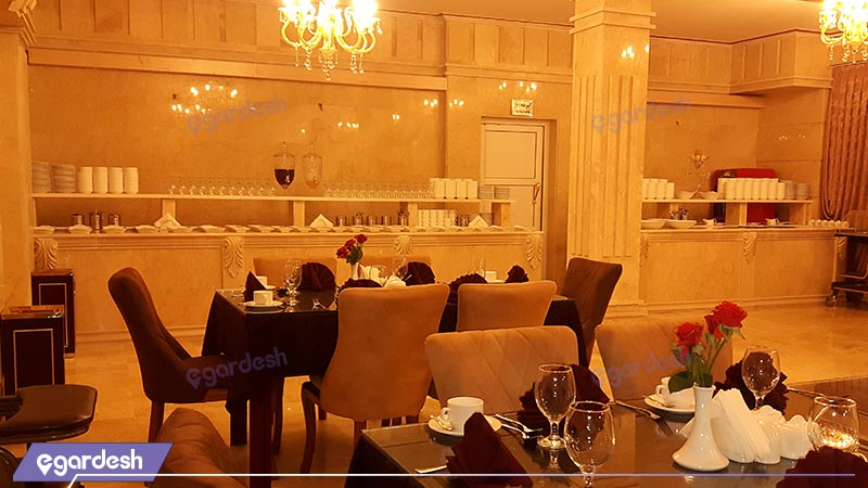 رستوران هتل بغدادی