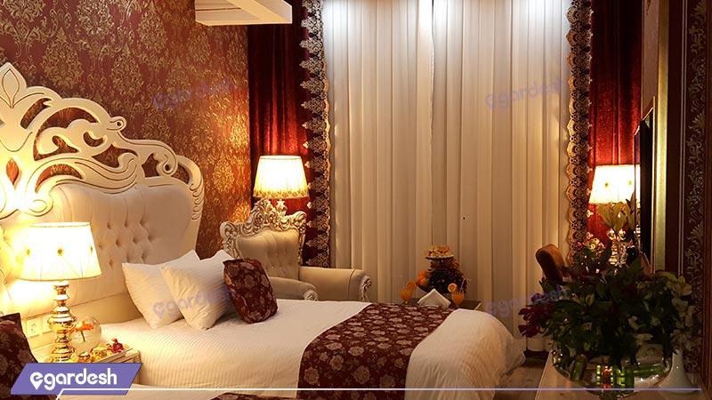 اتاق توئین هتل بغدادی
