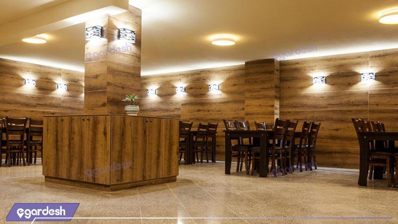 رستوران  هتل آپارتمان آنامیس
