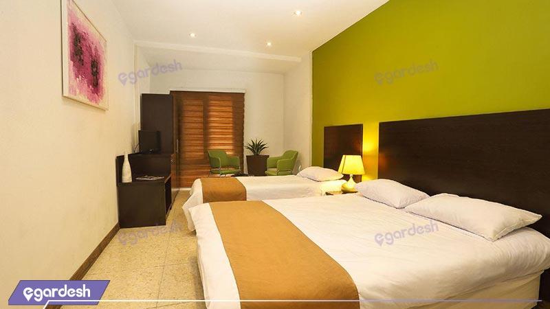 اتاق سه تخته هتل جهان
