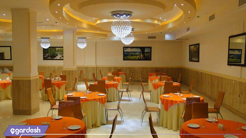 رستوران هتل مهرگان