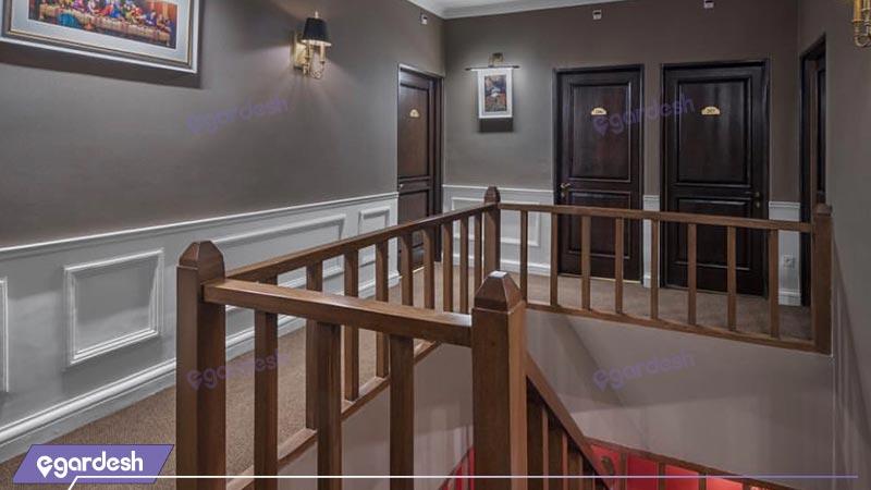 فضای داخلی هتل بوتیک شمشک