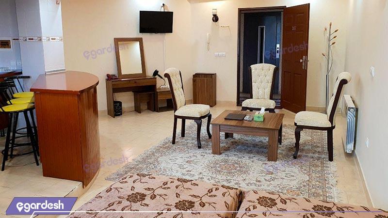 فضای داخلی هتل ایساتیس