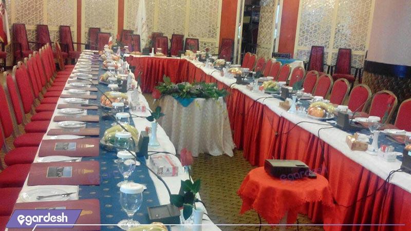 سالن کنفرانس هتل پارسیان آزادی خزر