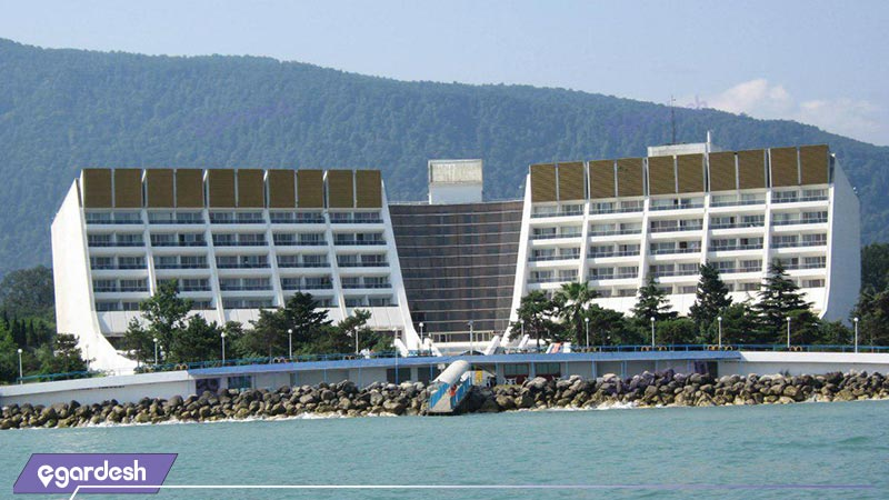 اتنمای هتل پارسیان آزادی خزر