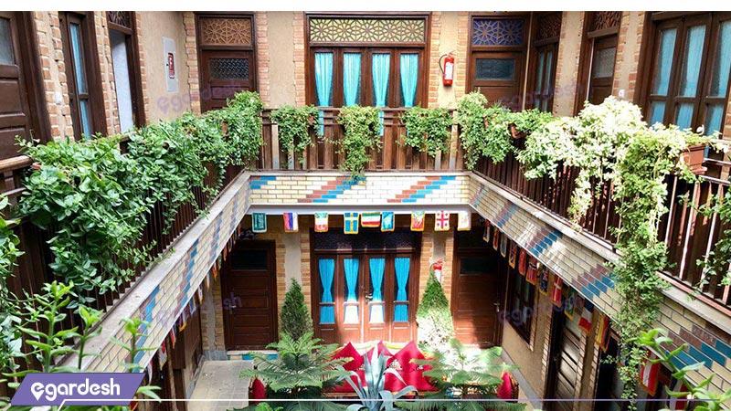 نمای هتل سنتی اردیبهشت
