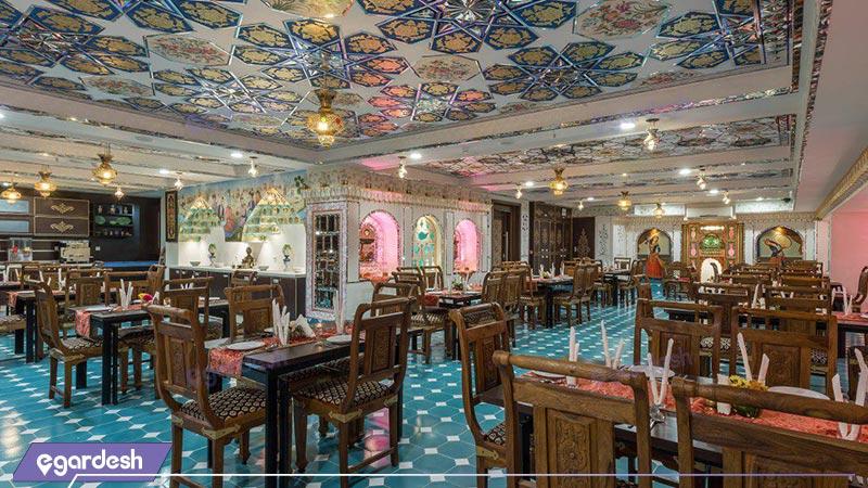 رستوران هتل شیخ بهایی