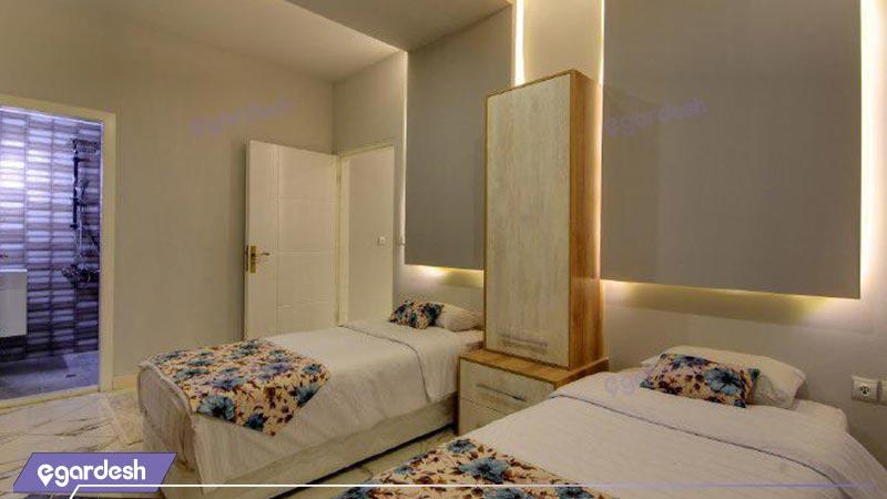 اتاق توئین مجتمع اقامتی گلستانکوه