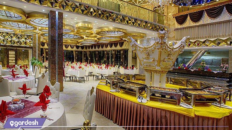 رستوران هتل الماس