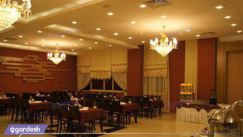 رستوران هتل سیمرغ فیروزه