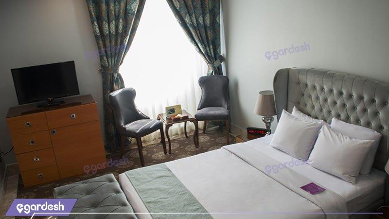 اتاق یک تخته هتل تارا