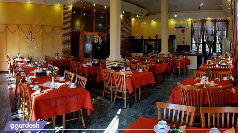 رستوران هتل فولتون