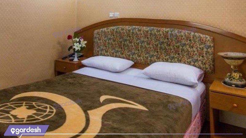 اتاق دابل هتل جهانگردی شاهرود