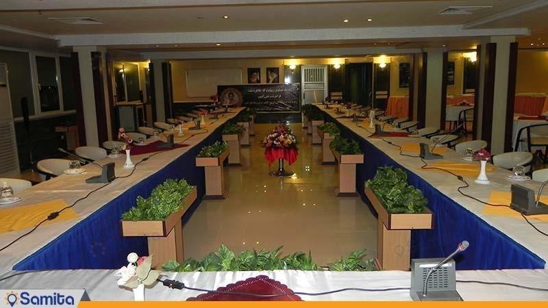 اتاق جلسات هتل پارسیان آزادی آبادان