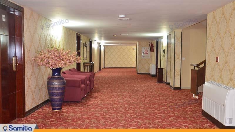 راهرو هتل پارس اهواز