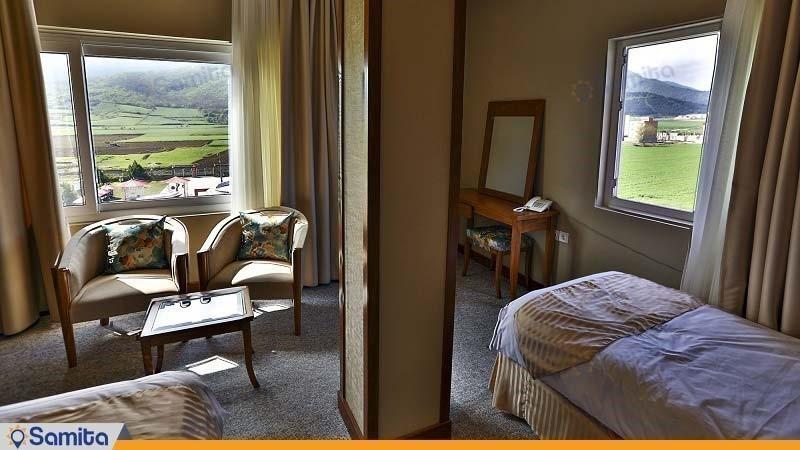 اتاق دو تخته هتل کانیار