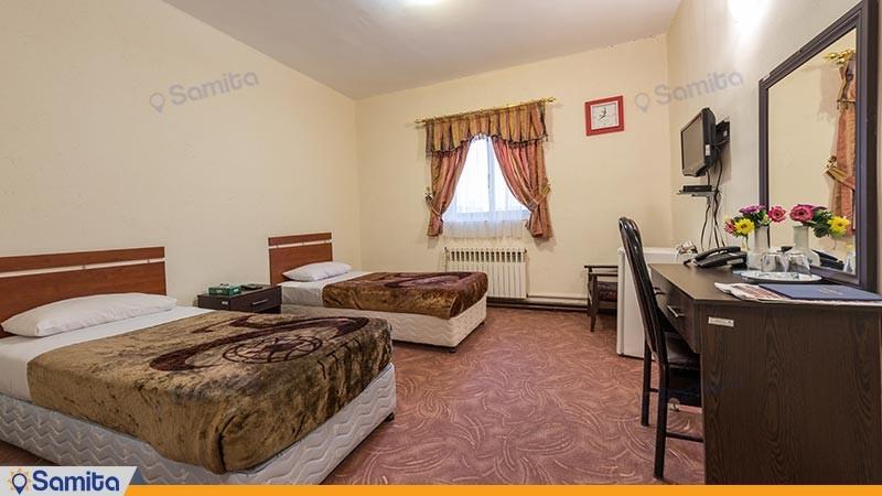 اتاق دو تخته توئین مهمانسرای جهانگردی