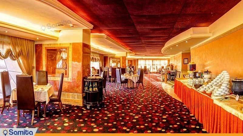 رستوران گلباران هتل امیر کبیر اراک