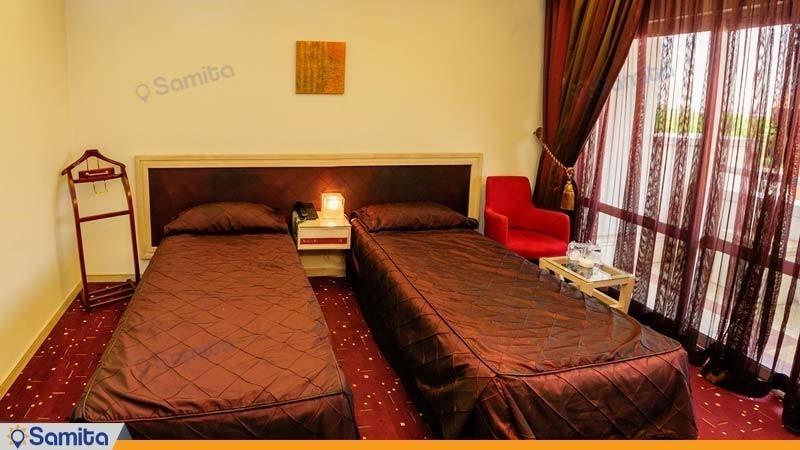 اتاق دو نفره هتل امیر کبیر اراک
