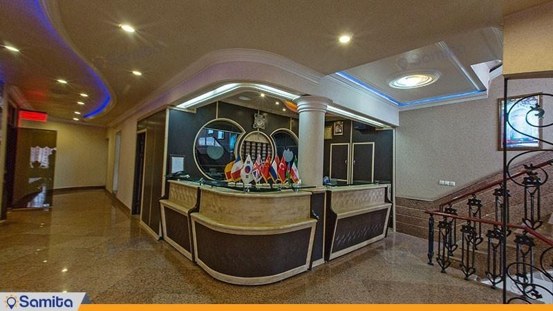 پذیرش هتل سبلان