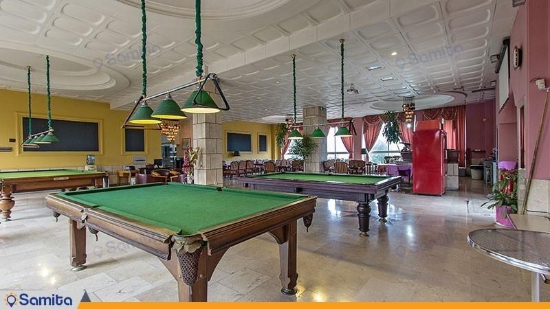 صالة البلياردو فندق اسبيناس آستارا