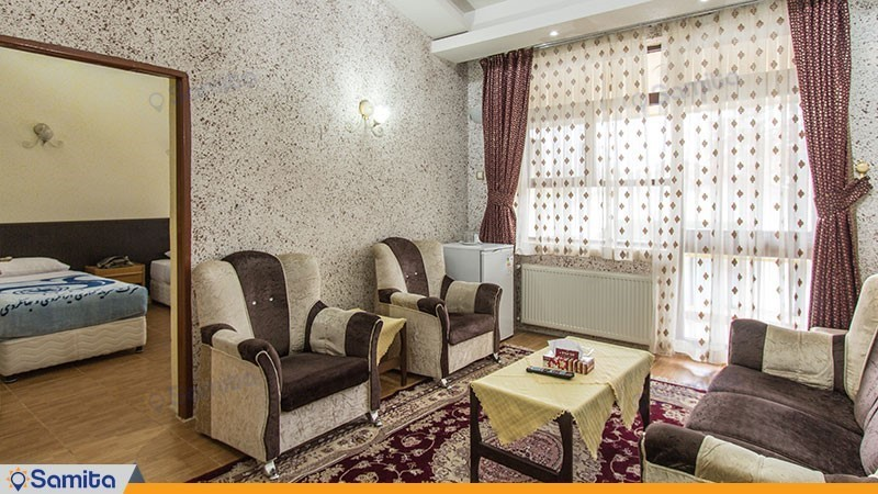 سوئیت چهار نفره هتل جهانگردی آستارا