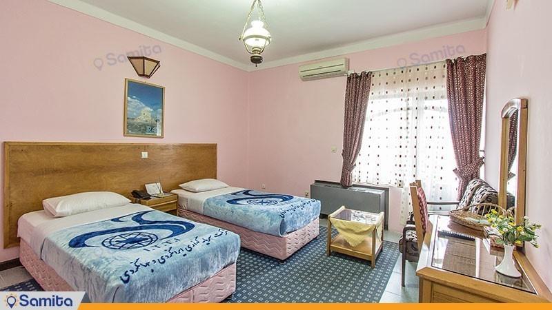 اتاق دو نفره هتل جهانگردی آستارا