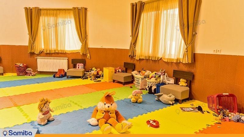 اتاق بازی کودکان اقامتگاه توریستی مرضیه
