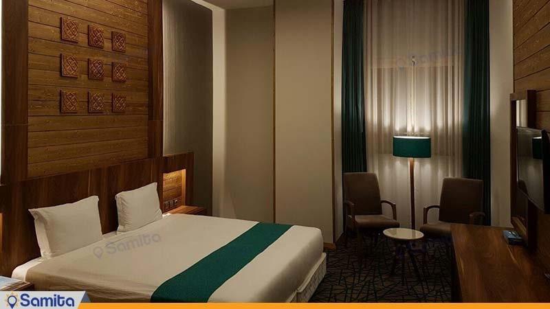 اتاق دبل بدون تراس هتل میزبان