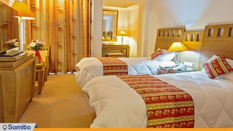 اتاق دو تخته هتل هما بندرعباس