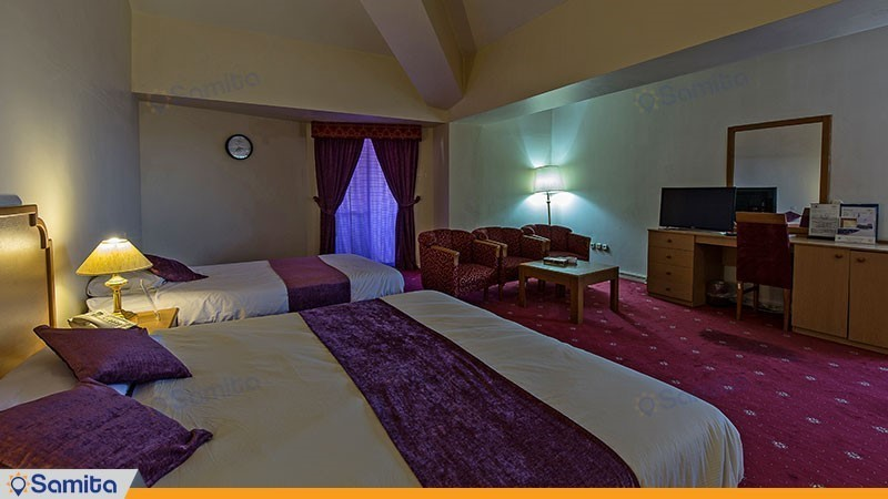 اتاق سه نفره هتل بین المللی هرمز