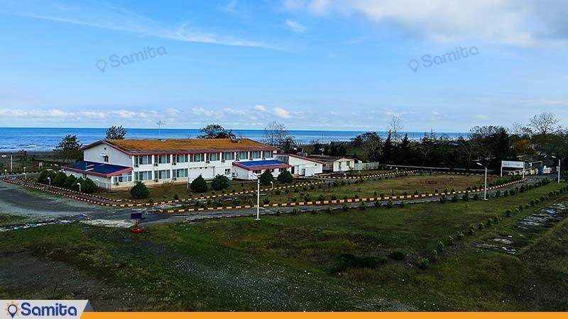 نمای ساختمان هتل جهانگردی نمونه