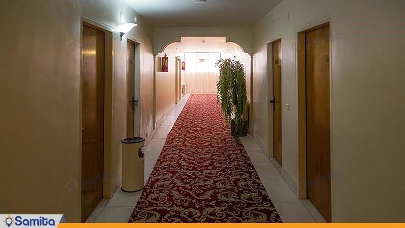 راهرو هتل جهانگردی بسطام