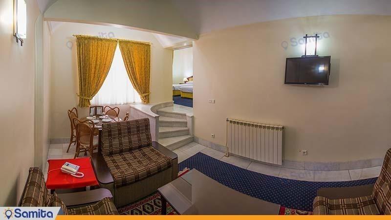 سوئیت ویژه سه نفره هتل جهانگردی بسطام