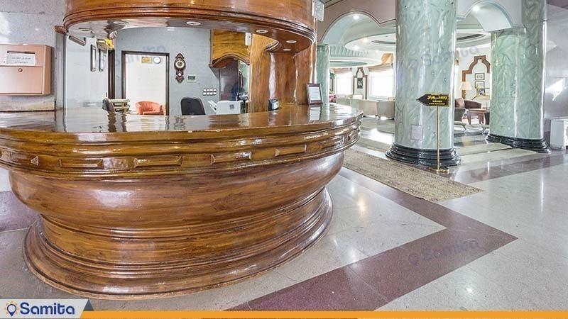 پذیرش هتل ساحلی مروارید صدرا
