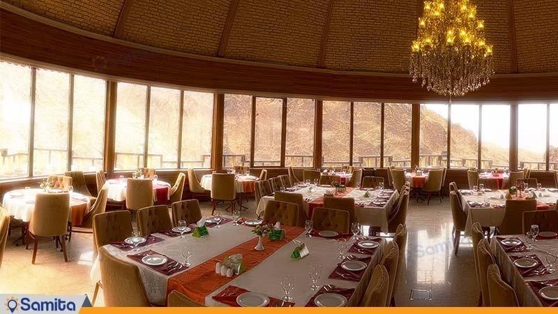 رستوران هتل بزرک کوهستان