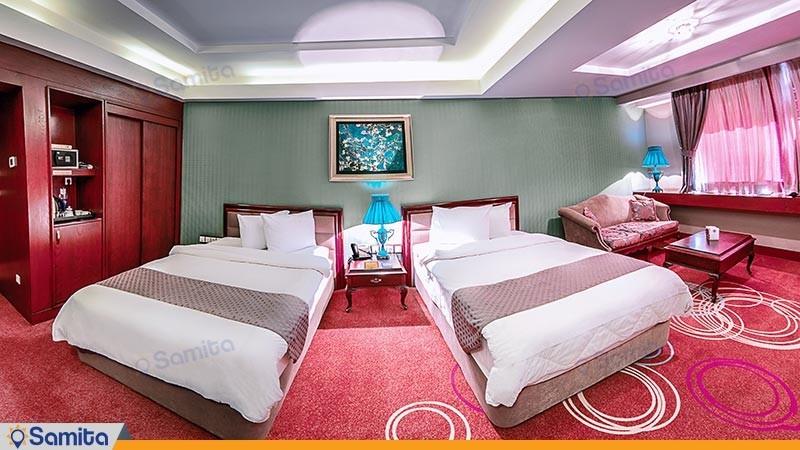 غرفة التوأم فندق الكبير شيراز