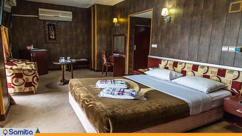 اتاق دبل هتل جهانگردی دلوار