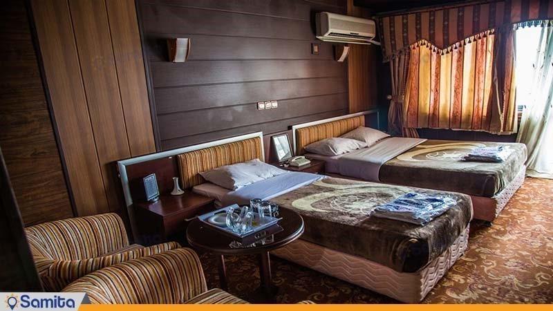 اتاق سه نفره خانواده هتل جهانگردی دلوار