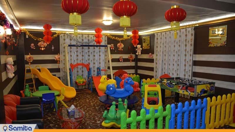 اتاق بازی کودکان هتل بین المللی فردوس چابهار