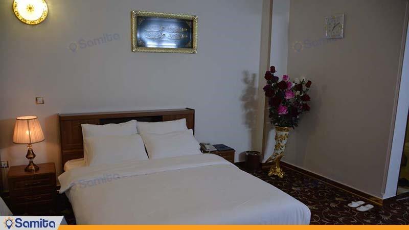 اتاق دبل هتل بین المللی فردوس چابهار