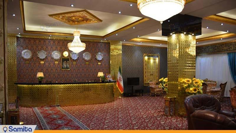 پذیرش هتل بین المللی فردوس چابهار