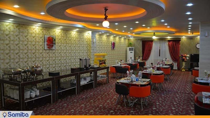 رستوران هتل بین المللی فردوس چابهار
