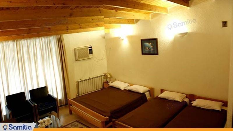 اتاق چهار تخته هتل کوروش